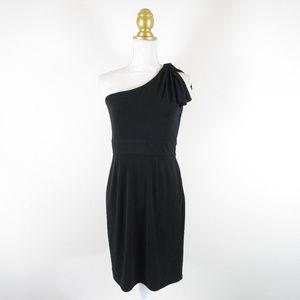 Calvin Klein One Shoulder Little Black Dress